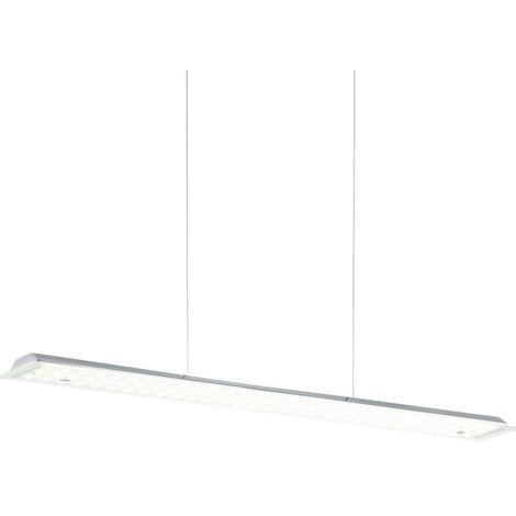 Lampe suspendue LED sommeil chambre pendule plafond lampe en verre radiateur de faisceau Eglo 93353