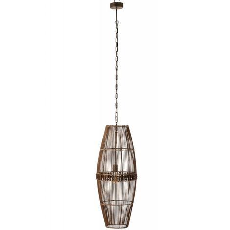 Lampe Suspendue Ona Bambou Naturel