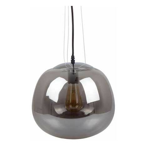 Lampe suspendue Verre Gris 3 Câble Suspension Elegant Stylish Series Ф380mm V-TAC