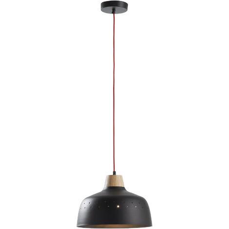 Lampe suspension Bits noir