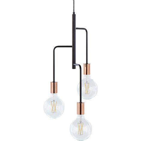 Lampe suspension noir BOGNA
