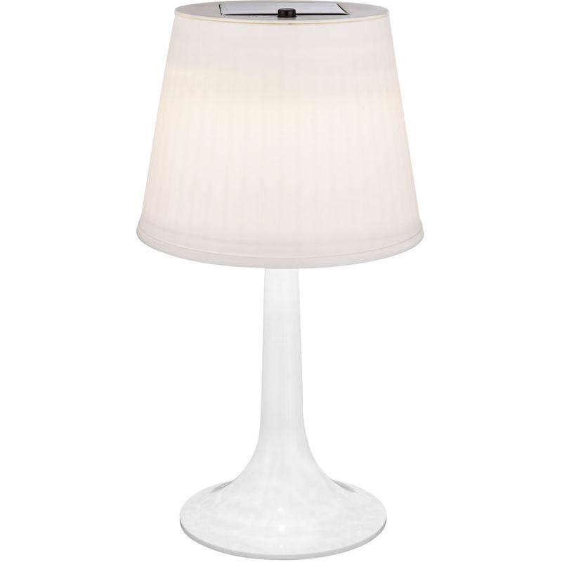 À Led Table Lampe Cm Hauteur 36 Interrupteur Solaire Blanche uZiXPk