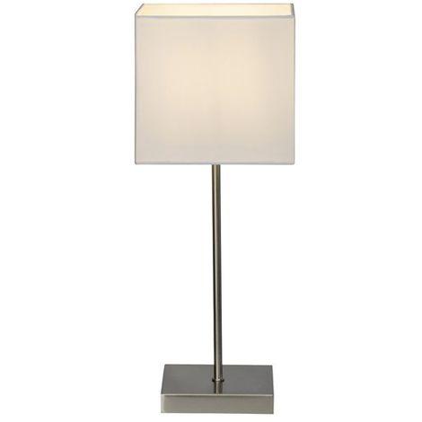 Lampe tactile AGLAE 1x40W E14 BLANC