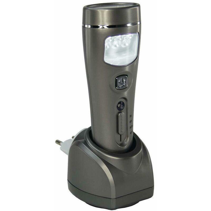 LAMPE TORCHE 20 LED RECHARGEABLE A DETECTEUR PRESENCE