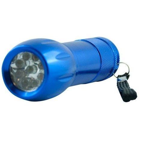 Lampe torche led - Finition - Bleu
