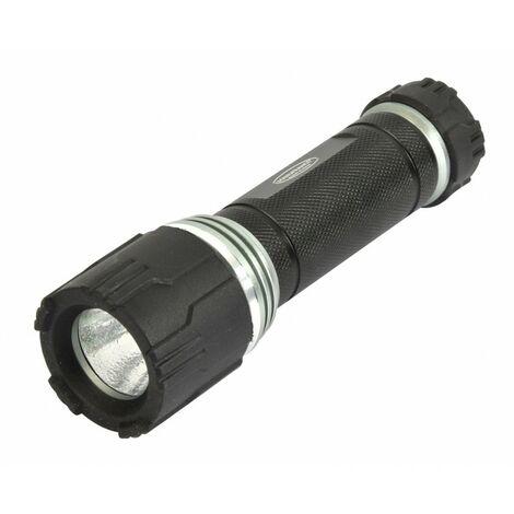 Rolson Super Bright Cree 3 W DEL Torche 150 lm 200 M faisceau avec 4 batteries