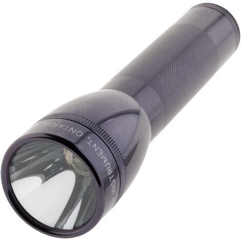 Lampe torche Maglite LED ML25LT 2 piles Type C 16,8 cm - Gris