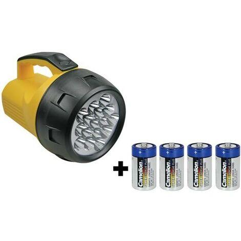 """main image of """"LAMPE TORCHE PUISSANTE - 16 LEDs - 4 x PILE LR20 (RI9116)"""""""
