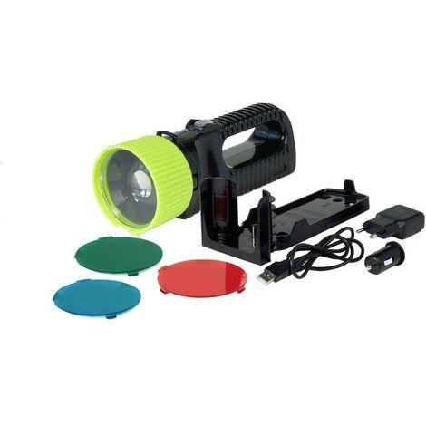 Torche Sans NoirJaune Lampe Acculux Led 442081 G Fil 400 3j54AcRLqS