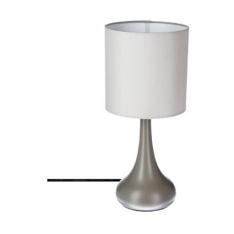 Lampe touch - H 35 cm - Taupe