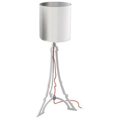 Lampe Tour Eiffel Argent Design