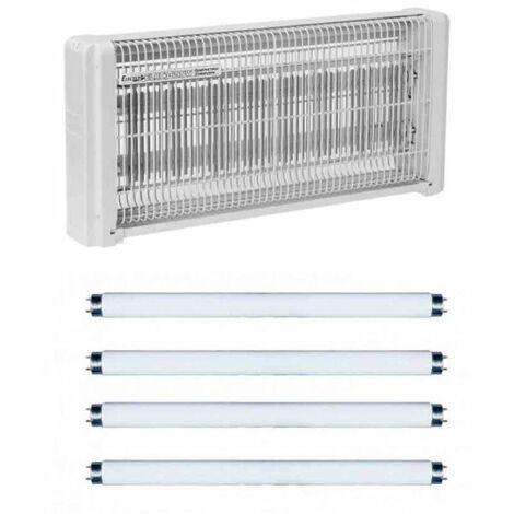 Lampe Tue insecte electrique 30w destructeur moustique + 4 Tubes de recharge