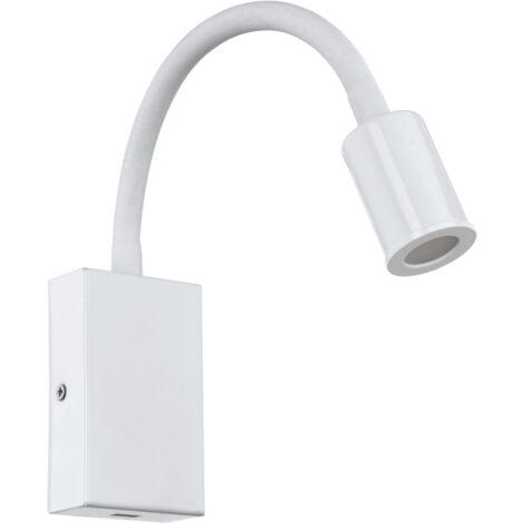 Lampe USB Tazzoli LED H30 cm - Blanc - Blanc