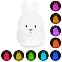Lampe Veilleuse LED rechargeable BUNNY