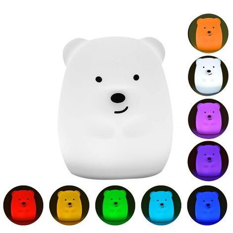 Lampe Veilleuse LED rechargeable TEDDY