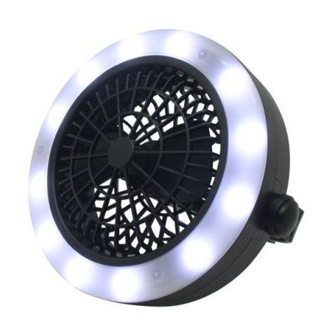 Lampe + ventilateur 2 en 1 led