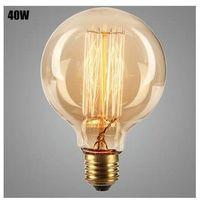 Lampe vintage bulb Edison E27 G95 40W Ampoule incandescente