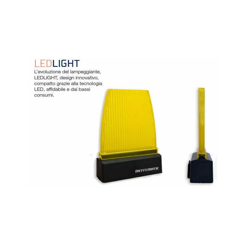 Lampeggiante Lampada Led 230v 12v 24v Compatibile Startec Tau V2 Pujol Sap Rib