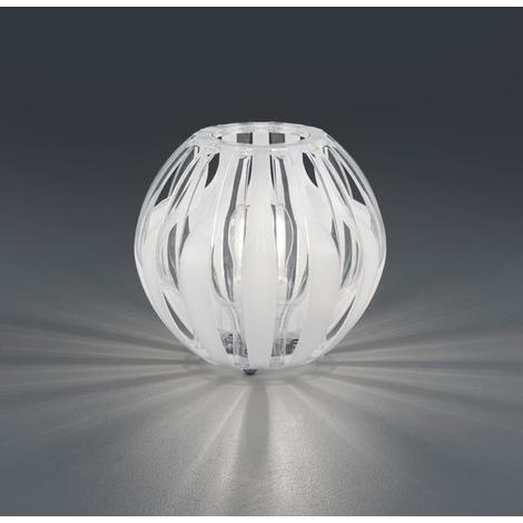 Lampes design Trio Pumpkin Blanc 01 Plastique R50472001