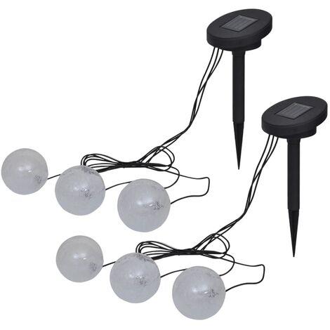 Lampes flottantes à LED 6 pcs pour étang et piscine