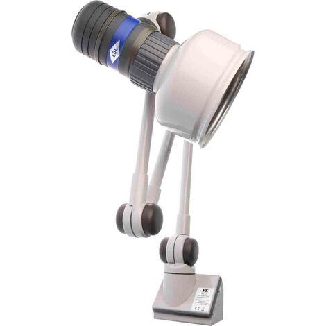 Lampes machines-outils Lampe halogène RS PRO, 240 V, 55 W, Articulé