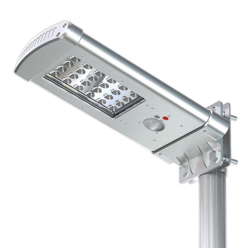 Lampione Led ad Energia Solare SMALL-ALL-IN-ONE con Telecomando - ECOWORLD SHOP