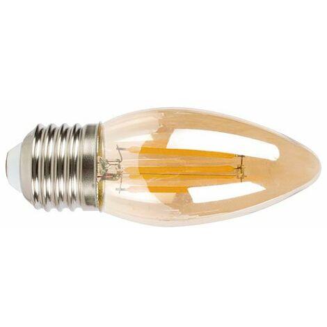 LAMP.LED FILAM.VELA E27 4W 2500K VINTAG