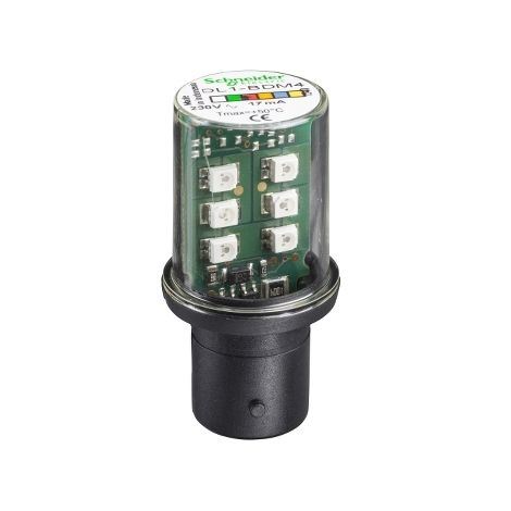 LAMP.ROJ.230V LED SCHNEIDER ELECTRIC DL1BDM4