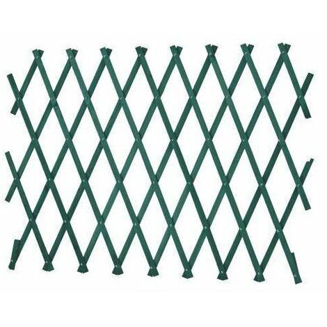 LAMS Treillage bois - 1,80 x 0,30 m - Vert