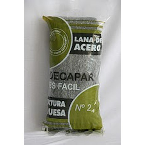 Lana Acero Bobina N.2 Gruesa - BARLESA - 1172 - 2,5 KG