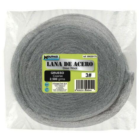 "main image of ""Lana d'acciaio 2500 gr.Di spessore 3"""