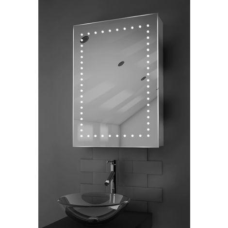 Lana LED Bathroom Cabinet with Demister Pad, Sensor & Shaver k353