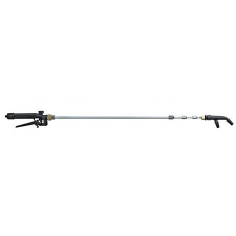 Lance télescopique aluminium pour pulvérisateur Longueur 890-2300 mm