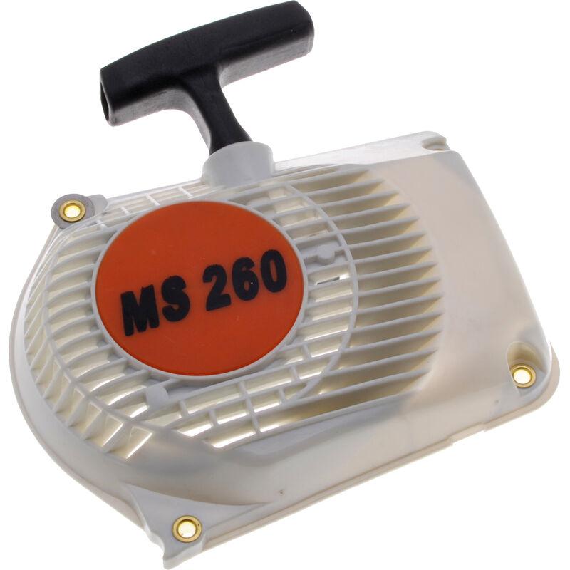 Lanceur adaptable pour tronçonneuse Stihl 024, 026, MS240, MS260
