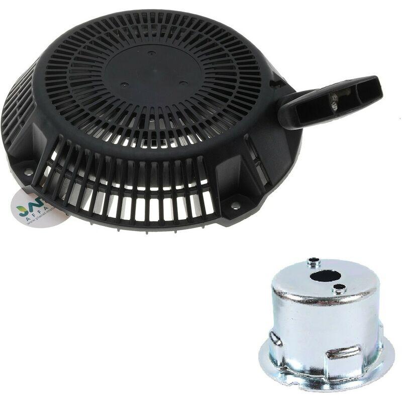 Jardiaffaires - Lanceur complet compatible moteur Robin EX35 et EX40 remplace 20B-50301-H0