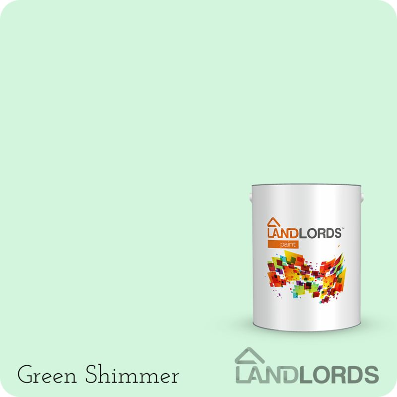 Image of Landlords Anti Condensation Paint 1L (Green Shimmer) - 1 L