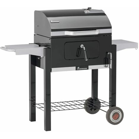 Landmann Charcoal Wagon Barbecue Dorado 56x42 cm Black 31401