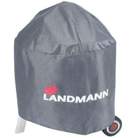 Landmann Funda para barbacoa Premium redonda 70x90 cm 15704 - Gris