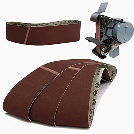 LangRay 3pcs 915x100mm 240 abrasifs abrasifs ceintures outils abrasifs