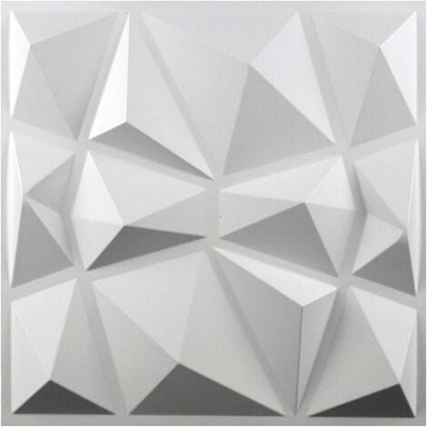 LangRay Autocollant Mural écologique étanche PVC Panneau Mural Décor De Décalque pour Les Autocollants Muraux Créatifs De Ménage pour Windows Blanc Mat