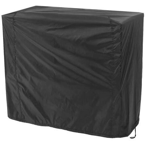 """main image of """"LangRay Barbecue Cover Black, Grill Cover UV / Water / Moisture Proof UV Protection Dust Water Wind Resistant for Outdoor BBQ Garden Patio Grill ('80x66x100cm)"""""""