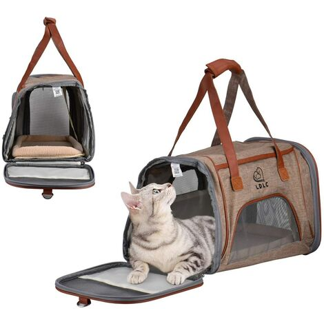 LangRay Collapsible Dog Bag, Cat Bag, Pet Bag, Portable Oxford Cloth Pet Bag, Suitable For Dog Or Cat, Suitable For Travel