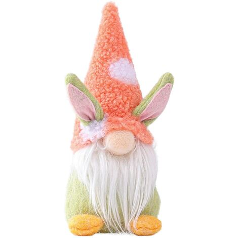LangRay Easter Bunny Decoration Muñecos de peluche de Pascua, Adornos para la casa de Pascua de la familia de los niños para la decoración de la mesa de muñecas Regalo, Regalo de Pascua 1/3 pieza (Rosa)