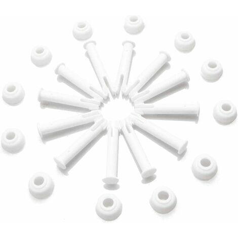 LangRay-Gelenkstifte und -Dichtungen (12 Stück) für Intex Round Metal Frame Pools-Ersatzteile, Intexpool-Ersatzteile (6 cm)