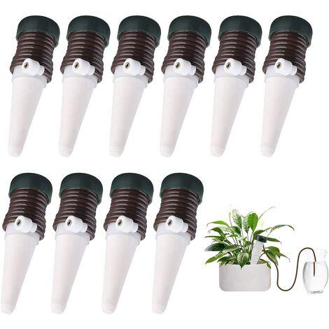 LangRay Kit de riego por goteo automático para plantas con cable, Kit de riego por goteo automático de cerámica para plantas (10)