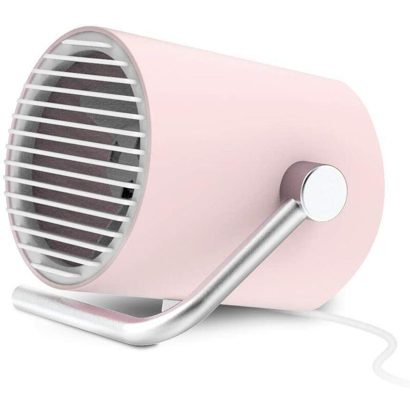 LangRay Mini ventilatore USB, ventilatore USB a basso rumore Mini ventilatore da tavolo portatile con tec