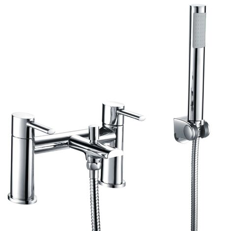 Lano Bath Filler and Shower Mixer Tap with Hand Held