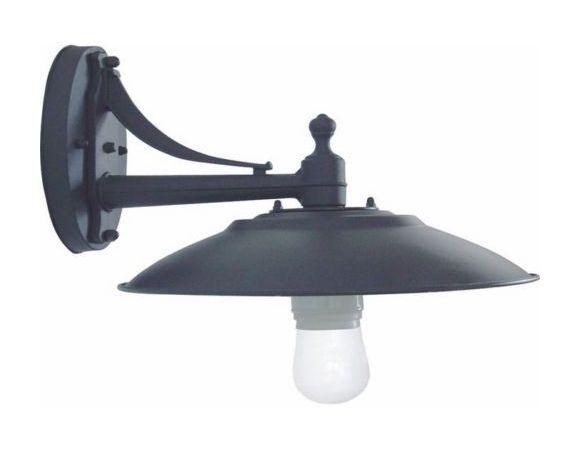 Lanterna applique da giardino retro antico basso 35 5x21h cm