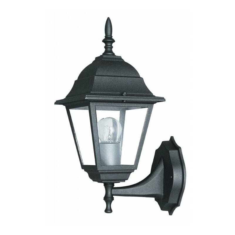 Lanterna applique nera per esterno ROMA - SHOP-DAY