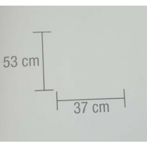 Lanterna bamboo bianca 37x37x53